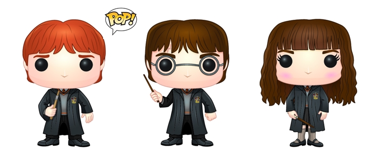 Funko Pop! anuncia coleção de Harry Potter, Once Upon a Time, The Flash e Arrow!