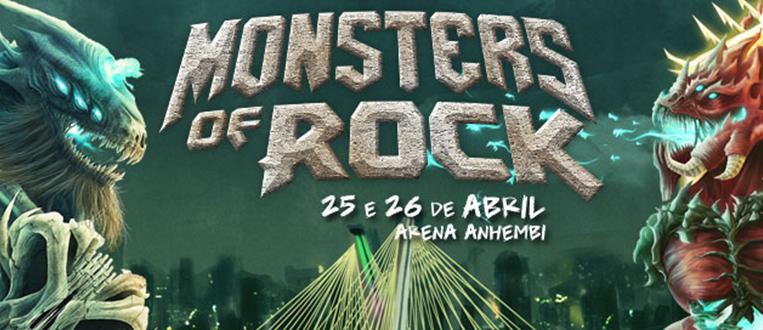 """De volta ao Brasil em 2015, o festival """"Monsters of Rock""""."""