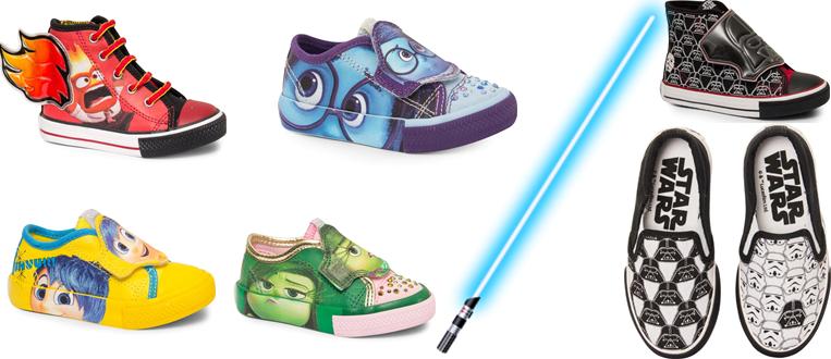Sugar Shoes lança tênis da saga Star Wars e da animação Divertida Mente!