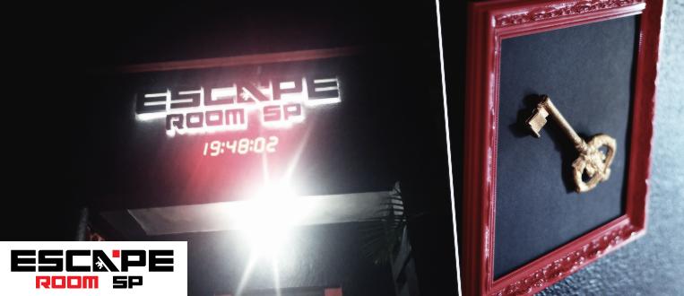 """Viva uma experiência de cinema no """"Escape Room SP""""!"""