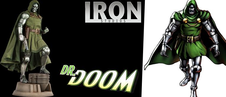 Dr. Doom é o novo colecionável disponível na Iron Studios Concept Store!
