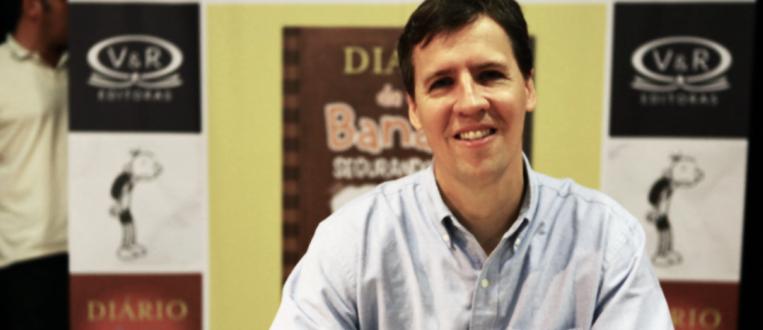 Autor da série Diário de um Banana participa de bate papo com fãs na Bienal Internacional do Livro!