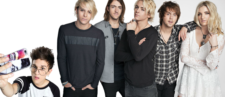 Youtuber Christian Figueiredo abre os shows do R5 no Brasil!
