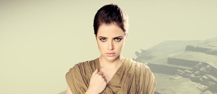 Agatha Moreira se transforma na protagonista Rey de Star Wars VII!