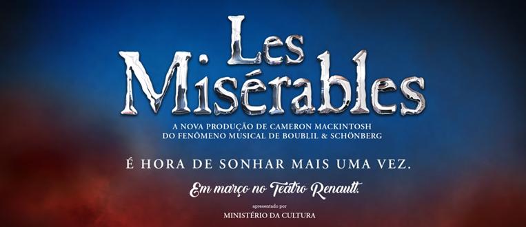 O fenômeno Les Misérables chega a São Paulo!