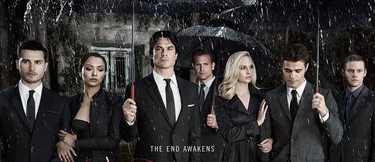 A oitava temporada de The Vampire Diaries chega em DVD em todas as lojas!
