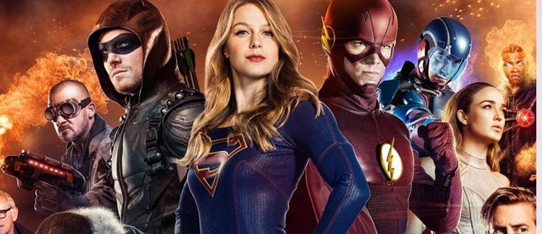 Os heróis já chegaram! As novas temporadas de Arrow, The Flash, Supergirl, DC's Legends Of Tomorrow e Gotham estão nas lojas