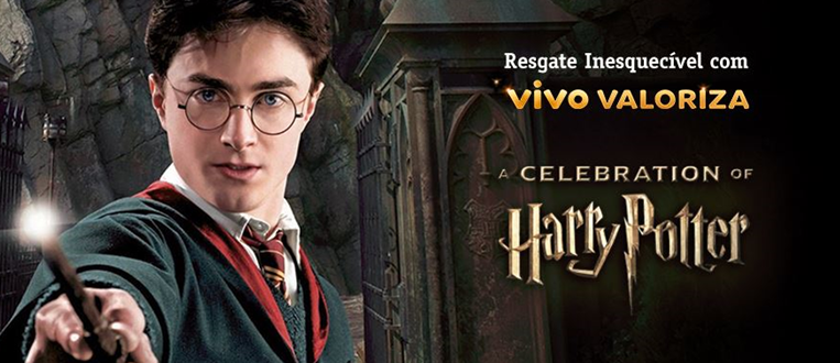 "Vivo levará cliente fã de Harry Potter para o evento ""A Celebration of Harry Potter"", em Orlando"