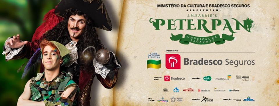Peter Pan, o Musical estreia dia 8 de Março em SP