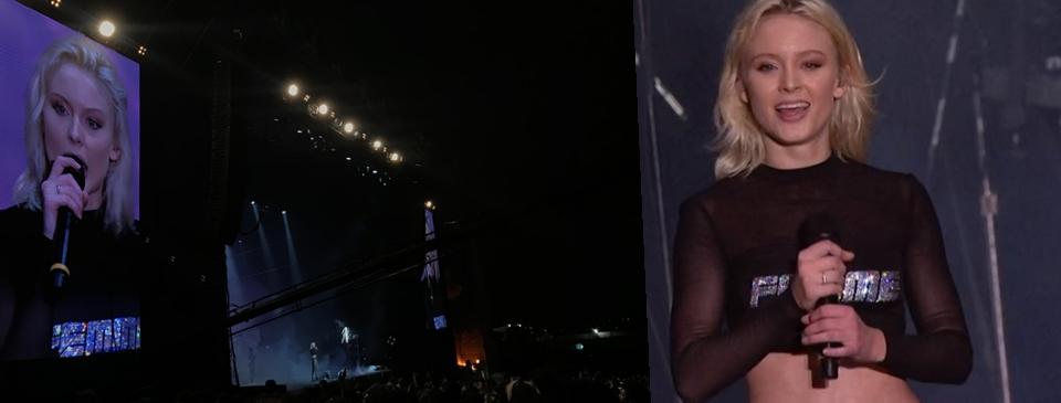 Depois de um show intimista na Áudio Club, Zara conquista multidão no Lollapalooza Brasil