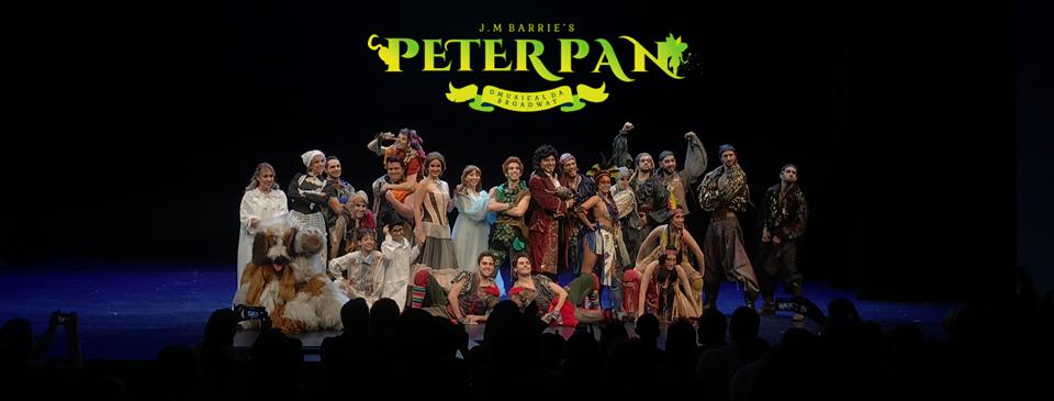 """Com """"Peter Pan da Broadway"""", a magia se torna real no teatro Alfa em São Paulo"""