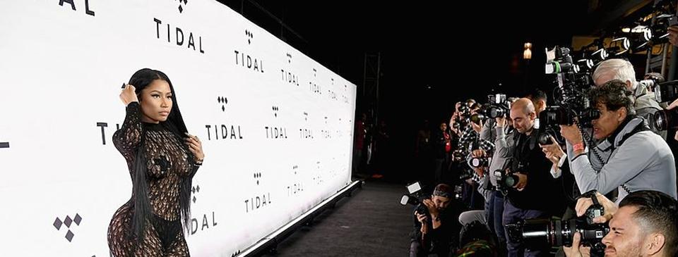 Nicki Minaj vem ao Brasil para comemorar parceria entre Vivo e Tidal