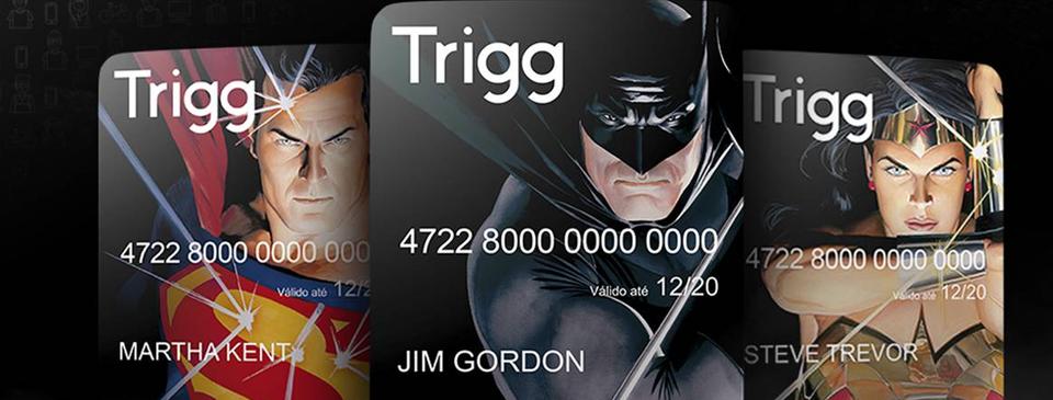 Trigg firma parceria com a CCXP e divulga cartão temático com heróis